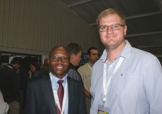 Thanda Sithole and Andrie Greeff, two Standard Bank economists