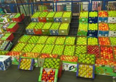 During December 2016 a total of R82 million [Euro 6 million] of fruit was sold at the market.