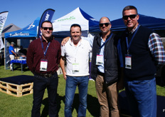 Dawie Fourie (Haifa), Paul Roux of United Exports, Werner van der Nest (Asfertglobal) and Johan du Plessis (Shiman).