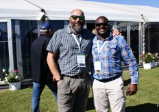 Etienne Kok and Alex Muchazondida of United Exports.