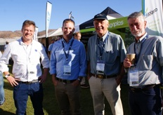 Mark Pidgeon (United Exports Australia), Malcolm Frick (Nutrano Australia), Ted Grobicki and Derek Fisher (Western Berry Australia).