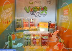 Mucci Farms won the award for Most Innovative Vegetable Packaging or POS Solution with its Veggies To Go.