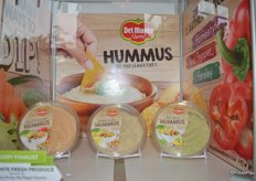 Hummus (Homestyle Hummus, Parsley Hummus and Red Pepper Hummus) from Del Monte.