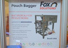 Pouch bagger from Fox Packaging