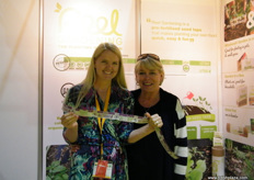 """Founder and CEO Claire Reid with mom Grainne of Reel Gardening (South Africa), present to promote ""planting revolution"" in Dubai."""