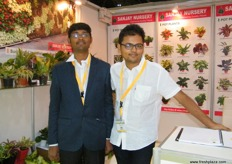 Pritam Chhajed for Sanjay Nursery with Rushab for CAPPL Agriculture, both from India and delivering quality plants.
