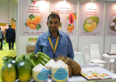Triton Fresh Manager Prakash Jani, an Indian company with experience in cold chain logistics and tropical fruits are their main products.