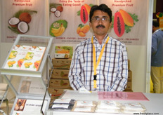 Manager Abhijit Ghaisas for Triton Fresh (India)