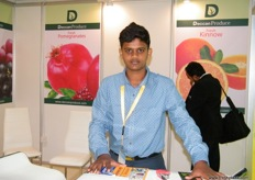 Niraadh, son of Nagesh Shetty, Director of Deccan Edibles (India)