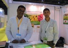 Director Jayesh Jaiswal with Kirti of Krishna Innovations (India), the company is known for their poly houses in India.