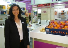 General Manager (Gulf and Asia Region) Abeer Badran for Daltex; Daltex has also branches in Egypt, UK, Germany and Russia.