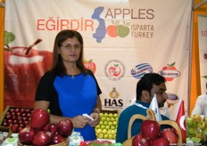 At the Isparta Chamber of Commerce and Industry stand (Turkey)