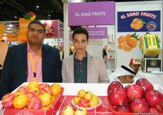 At the Elsaad Fruits stand (Egypt)
