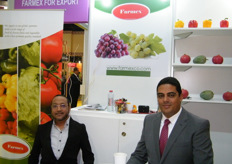 Islam Heidar and Ahmed Magdy for Farmex (Egypt); established in 2008 and offers fresh/frozen fruits and vegetables.