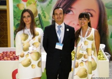Vice President and CEO Goncalo Santos Andrade of Portugal Fresh, an association promoting Portuguese fruits, vegetables and flowers.
