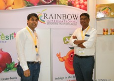 From Rainbow International(India): Abhijeet Bhasale (Director) and Rahul Kshirsagar (Export Manager); practices international hi-tech farming techniques to increase the yield and quality of their produce and to meet international standards.