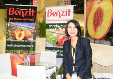 Export and Sales Manager Meryem Ameziane of Benzit (Morocco)