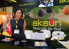 From Aksun (Turkey), Ayla Kanatli for International Trade