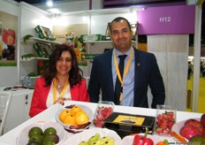 Nevine Karam and Emad El din Ahmed of Evagro (Egypt)