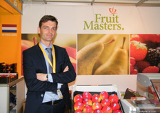 Export Manager Fabien Dumont of Fruit Masters (Netherlands)