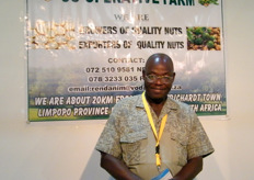 Nelson Mashova for Shovha Valley Farm (South Africa); growers of macadamia nuts and avocadoes