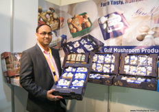 Milind Dhonde, Marketing Executive, Gulf Mushroom Products (Oman).
