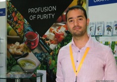 Export Manager Sotiris Lymperopoulos, Radiki IKE (Greece); specializing in organic citrus fruits.