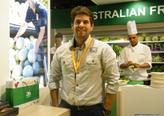 Sales and Marketing Director Dane Capogreco of Capogreco Farms (Australia)