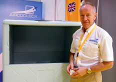 Sales Director Gerry Mundy, Aircool Box (UK)