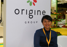 Sales Manager Reen Nordin, Origine Group (Italy)