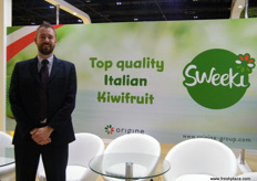 Salvi's Export Manager, Andre Jensen (Italy)