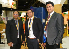 From Barakat (UAE): Sales Manager Shanavas K.M,Retail Sales Manager Allan de Jong and Account Manager Yasir Ali