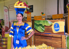Present as always, Chiquita - at the FFC stand