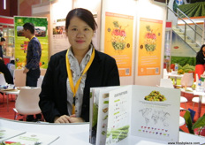 Biny Chen for Great Sun Foods (China)