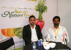 From Nature Fresh (UAE), Sharath and Jack