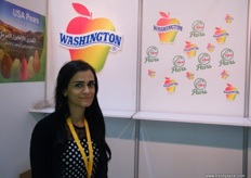 Rasha Al Awar, representing Washington Apples thru Arab Marketing and Finance (Lebanon)