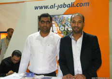 From Al Jabali Trading Group: Fahim (Sales)and Mohamed Ghazaly (Accountant)