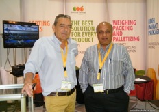 Area Manager Massimo Roversi, Sorma Group (Italy) with CEO Sunil Vaidya, Fruit Technologies (India)