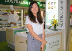 Andrea Lin, International Trade Specialist, AUSVEG (Australia)