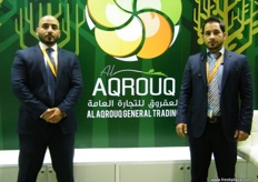From Al Aqroug Trading (UAE): Sales and Marketing Director Esam Aqrouq and Managing Director Emad Aqrouq