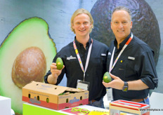 Brent L. Scattini and Todd Mauritz of Mission Produce. Together with Lantao and Pagoda, Mission Produce is exporting, ripening and distributing fresh avocado in Mainland China. The company is also behind Mr. Avocado, the Chinese sales office.