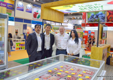 Driscoll's is, next to exporting soft fruit to China, also investing in domestic blueberry production. From left to right, David Medina, the commercial development manager in China, Mark Conroy (Australia), and Teresa Ruiz.