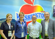 Washington Apples with Lindsey Huber, Rebecca Lyons, Philander Fan, based in Hong Kong, and Victor Wong, based in Shanghai.
