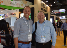 Marcel Oldenziel from Manter International and Stefan Herzhauser were visiting the show.