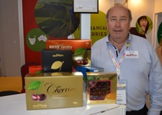 Tim Ried from from Ried Fruits. Reid Fruits was recently put up for sale, Tim says they are now in the second stage and there may be some news in November as to who will take over the company.