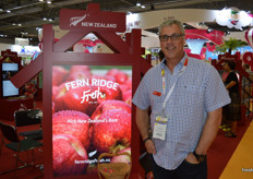 Hamish Davis from Fern Ridge Fresh said the their Koru apple is going very well and they are moving into retail programs in Asia as they will be in commercial production volumes at the start of next season. The Piqu Boo pear is also being trialled in China and Taiwan with positive feedback.