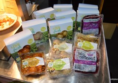 A new range of ready to eat potatoes from One Harvest, 12 natural flavours which just need to heated in the microwave.