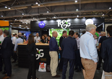 A busy T&G Global stand.