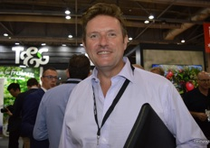 Steve Maxwell from Worldwide Fruit was visiting the T&G Global stand.