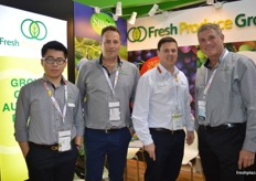 The Fresh Produce Group - Jonathon Chen, Paris Flounders, Malcolm McClean and Robert Nugan founder and Chairman.